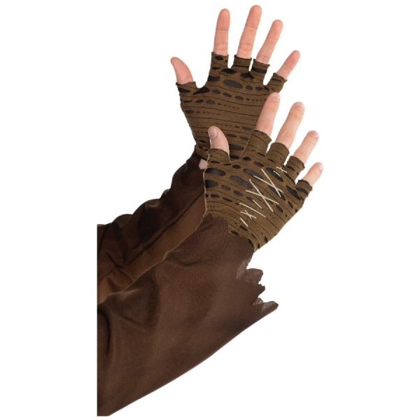 Witch Doctor Cropped Fingerless Gloves